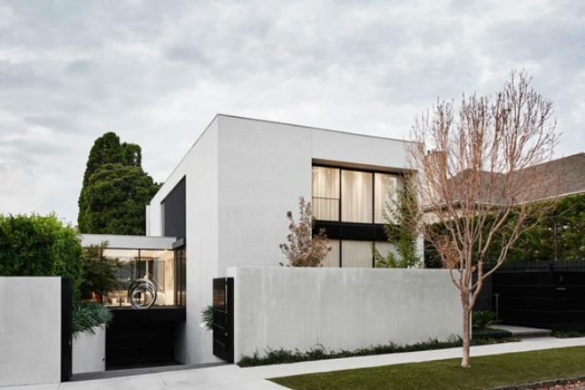 Mẫu thiết kế biệt thự hiện đại ở Australia