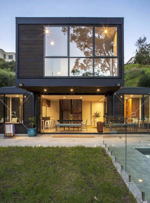 Thiết kế biệt thự hiện đại sang trọng giữa thung lũng