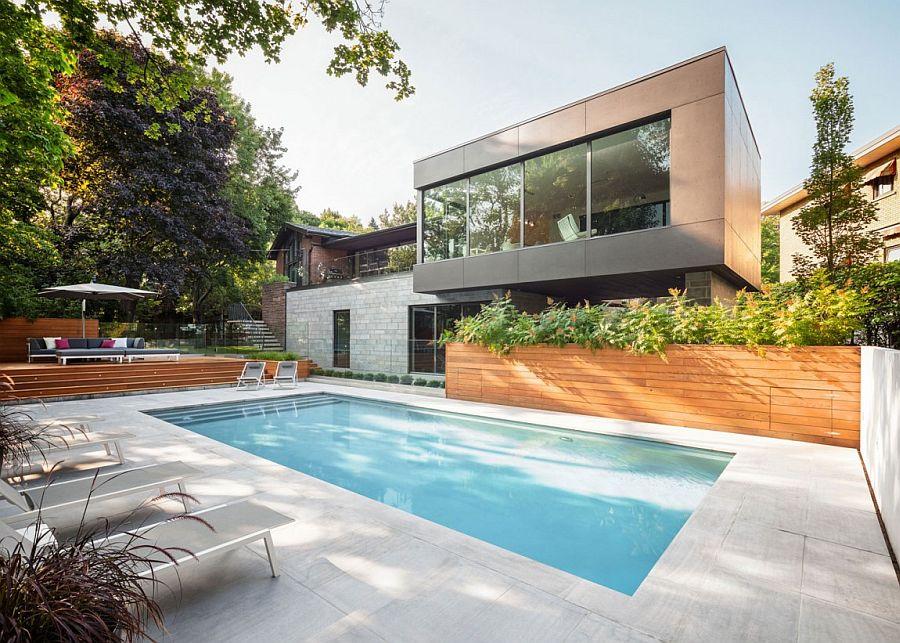 Biệt thự hiện đại với hồ bơi sang trọng