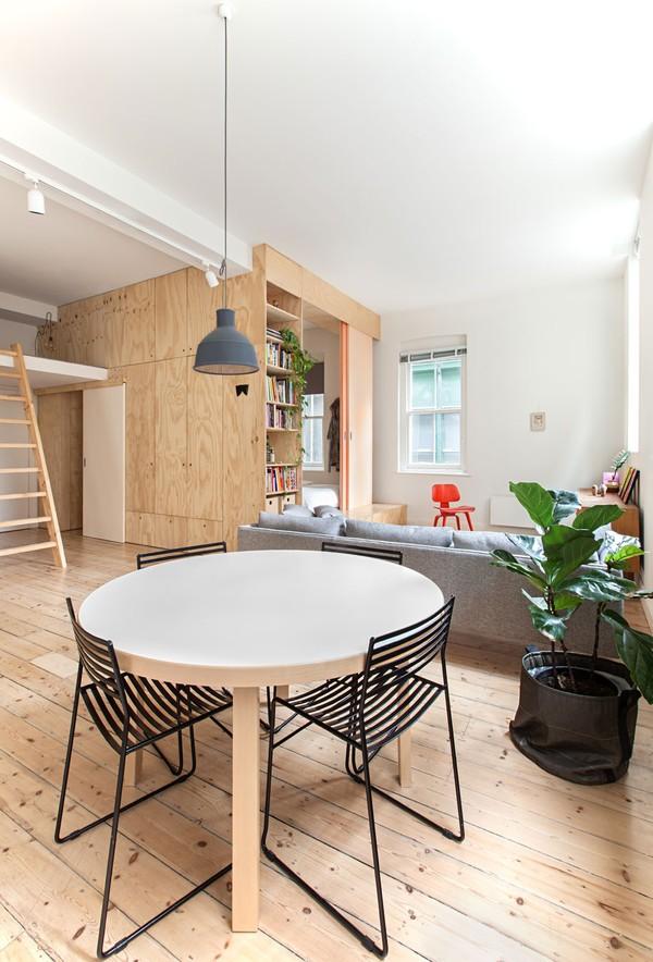 Thiết kế nội thất căn hộ 75m2 đẹp miễn chê