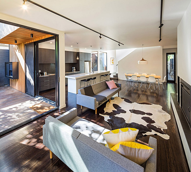 Mẫu thiết kế nội thất căn hộ 140m2 đẹp long lanh