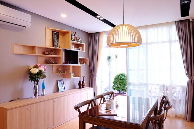 Thiết kế nội thất chung cư 120m2 cá tính mạnh mẽ