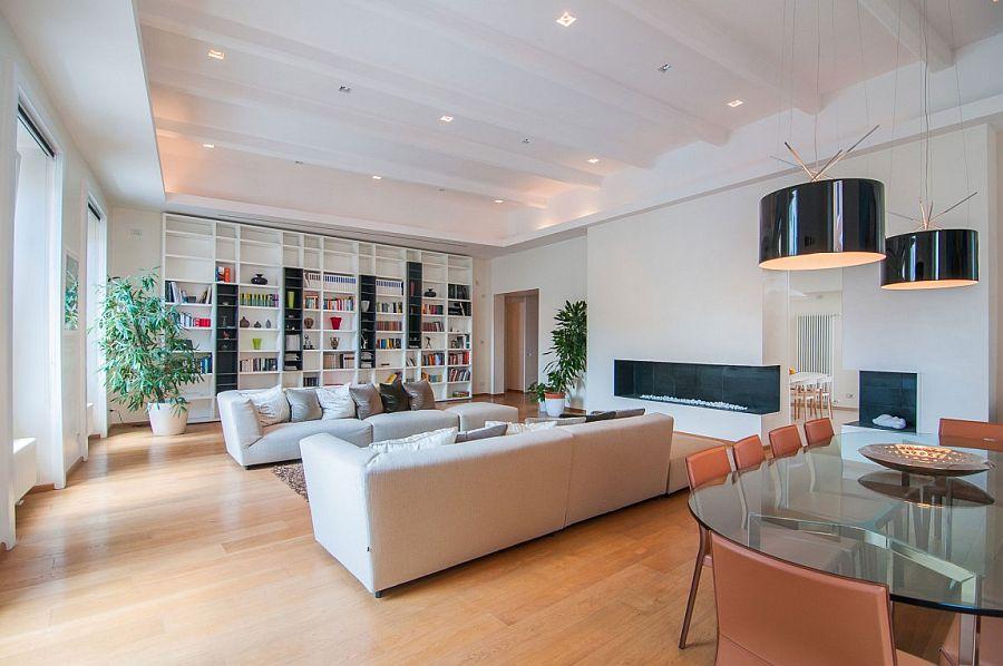 Thiết kế nội thất chung cư lãng mạng và sang trọng