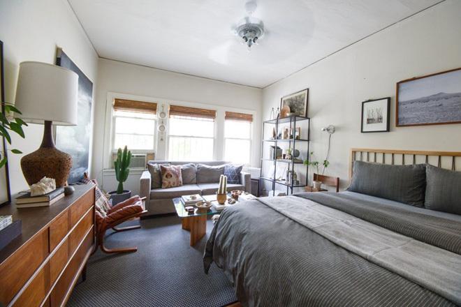 Mẫu thiết kế nội thất căn hộ chung cư 37m2 cá tính
